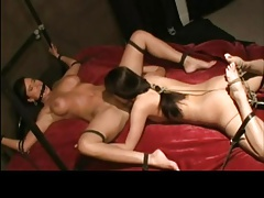 Girly-girl Restrain bondage..
