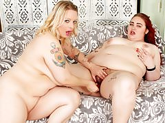 BBWs Play with Each Others..