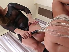 maid Athina  & spanked by